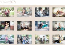 Charitativní kalendář Psí život 2019 je již v prodeji!